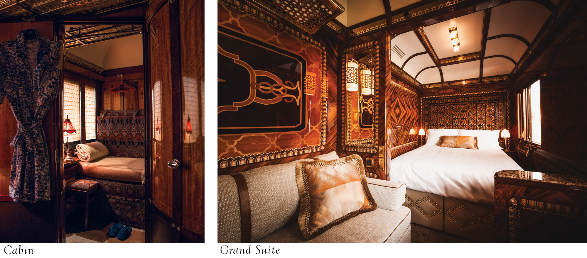 Accommodation on the Venice Simplon-Orient-Express