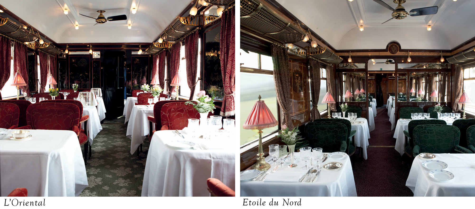 Dining on the Venice Simplon-Orient-Express