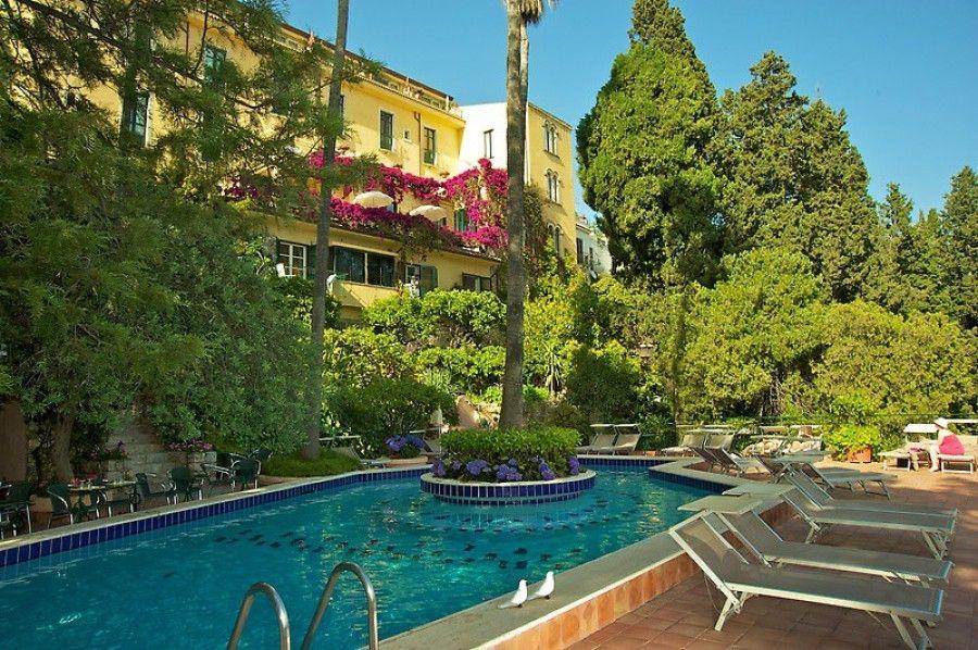 Villa Belvedere Hotel Taormina Italy Sicily Europe Luxury Short Breaks Kirker Holidays