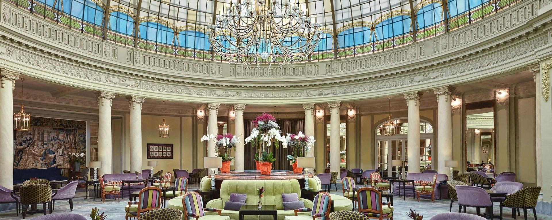 Westin Palace Hotel Madrid Spain Europe Luxury Short