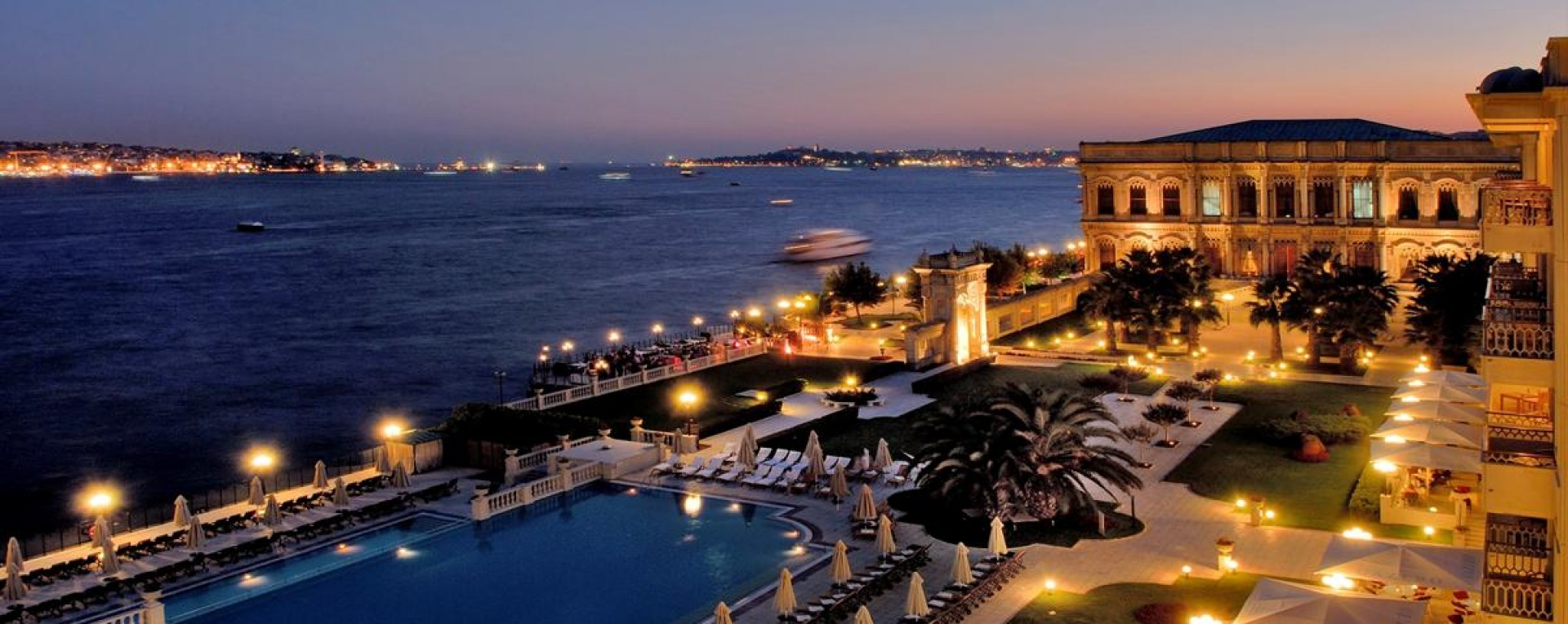 ciragan palace kempinski hotel istanbul turkey europe On luxury short breaks europe