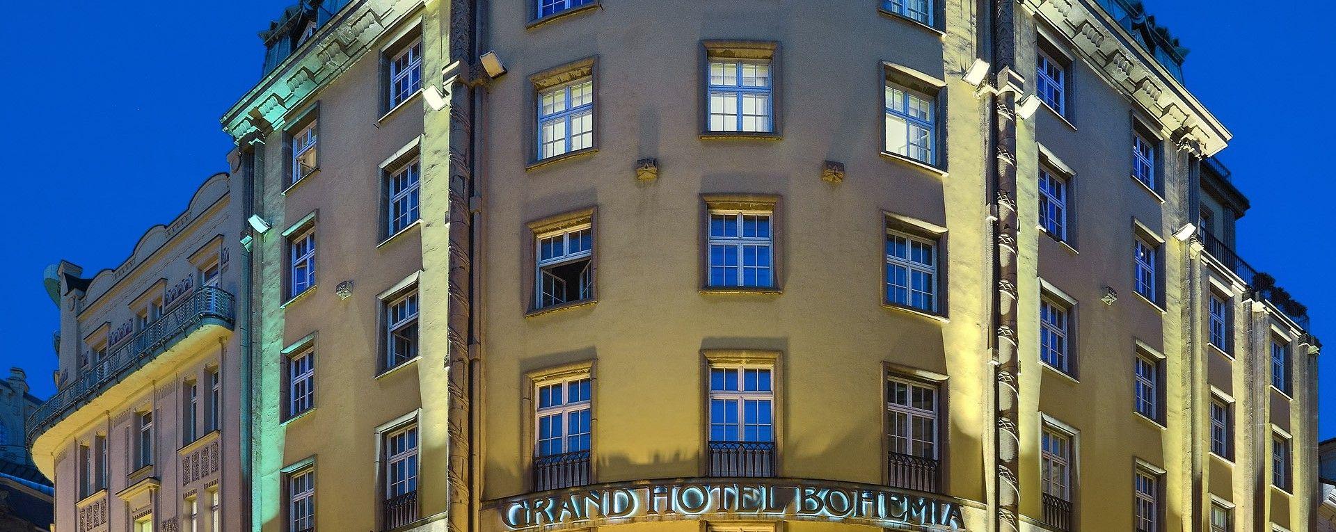 Grand hotel bohemia hotel prague czech republic europe for Grand hotel bohemia prague reviews