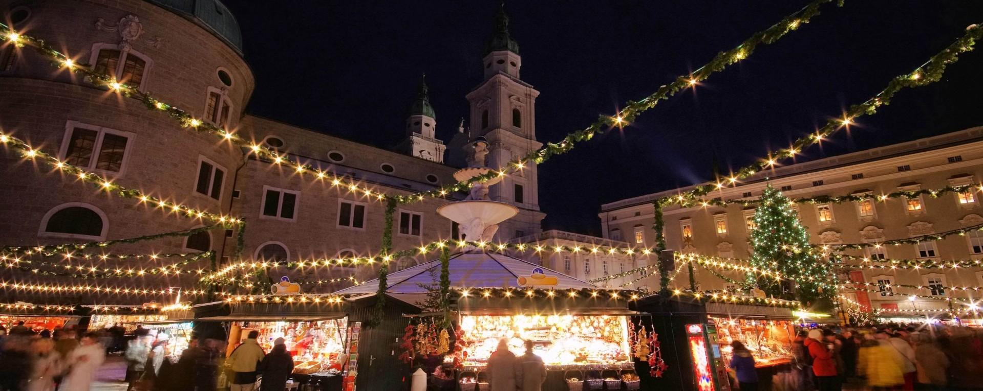 Salzburg Christmas Market.Salzburg Christmas Market Holidays 2019 Kirker Holidays