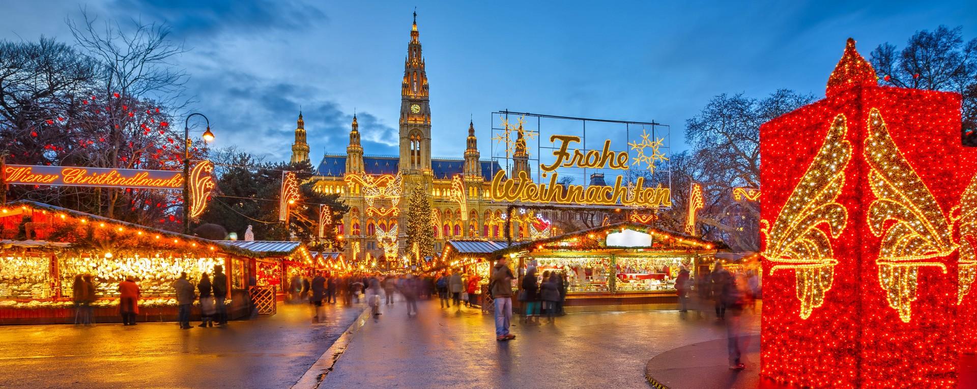 vienna christmas market - Vienna At Christmas