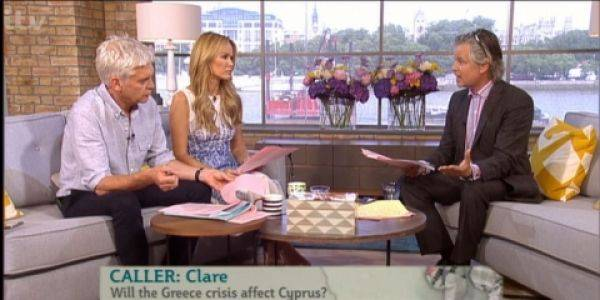 "Ted Wake discusses the Euro-crisis on ITV's ""This Morning"""